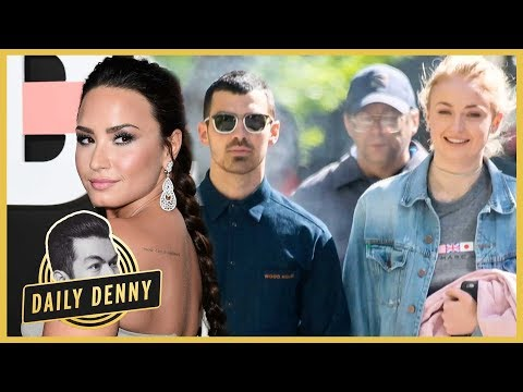 Download Youtube: Demi Lovato Congratulates Ex Joe Jonas on Engagement to Sophie Turner | Daily Denny