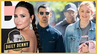 Demi Lovato Congratulates Ex Joe Jonas on Engagement to Sophie Turner | Daily Denny