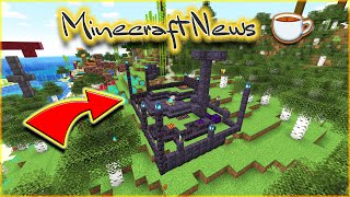 BRAND NEW Basalt Deltas BIOME! BLACKSTONE!!! ASH, VOLCANIC ERUPTIONS & NETHER Items ☕ Minecraft News