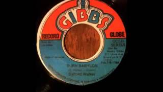 Sylford Walker, Joe Gibbs & The Professionals - Burn Babylon + Dub Version