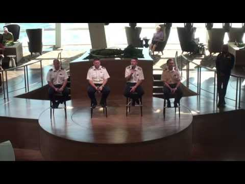 Quantum of the Seas: Inaugural Captain's Corner Session - November 30, 2014