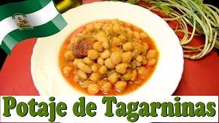 Potaje de Tagarninas. Las Recetas del Hortelano