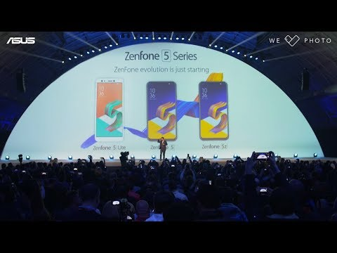 ZenFone Unveil #Backto5 Event Highlight | ASUS MWC 2018