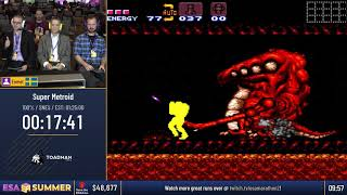 #ESASummer18 Speedruns - Super Metroid [100%] by Enmet