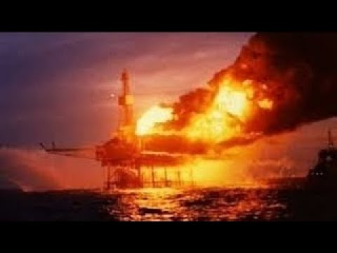 Mega Disasters Explosion in the North Sea