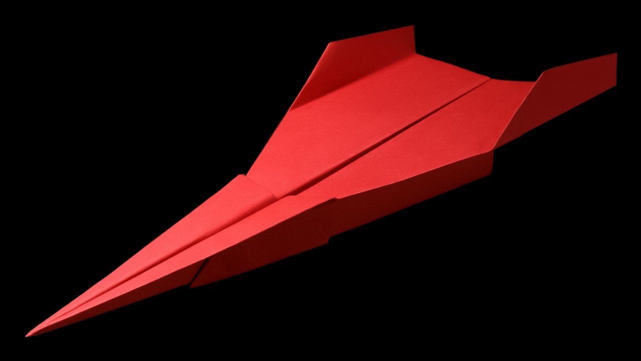 How To Make A Paper Airplane That Flies Far 101 Ft BEST Paper