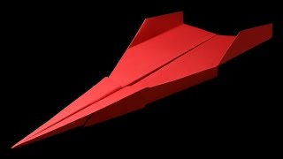 How to make a BEST paper airplane jet - easy paper airplanes that FLY FAR and Fast