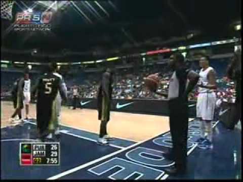 Puerto Rico vs Jamaica Centrobasket 2012 Semifinal Part-1