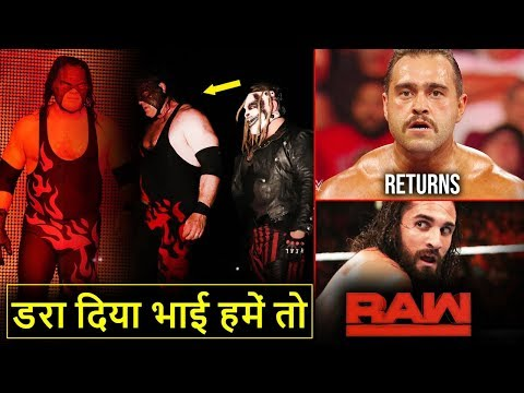 'RAW Ne To Dara Diya😲' Kane RETURNS & Fiend ATTACKS!! Kane 24/7 Title WWE Raw 16 Sep 2019 Highlights