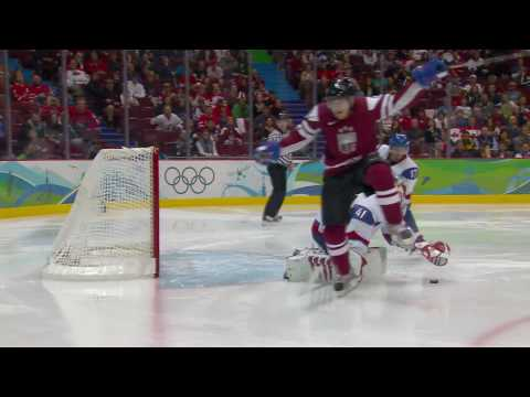 Latvia 0-6 Slovakia - Men's Ice Hockey | Vancouver 2010 Winter Olympics