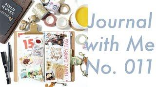 Journal with Me No.011 | Midori Traveler's Notebook