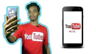 How To Make Live Stream on YouTube Using Mobile (Hindi) - Creative Bijoy