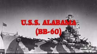 USS Alabama (BB-60) - The Lucky A