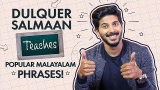 Dulquer Salmaan Teaches Popular Malayalam Phrases   Bollywood   Pinkvilla
