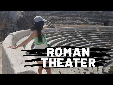 SYRIAN CULTURE   ROMAN THEATER OF JABLAH   Subtitled Video   Part 1
