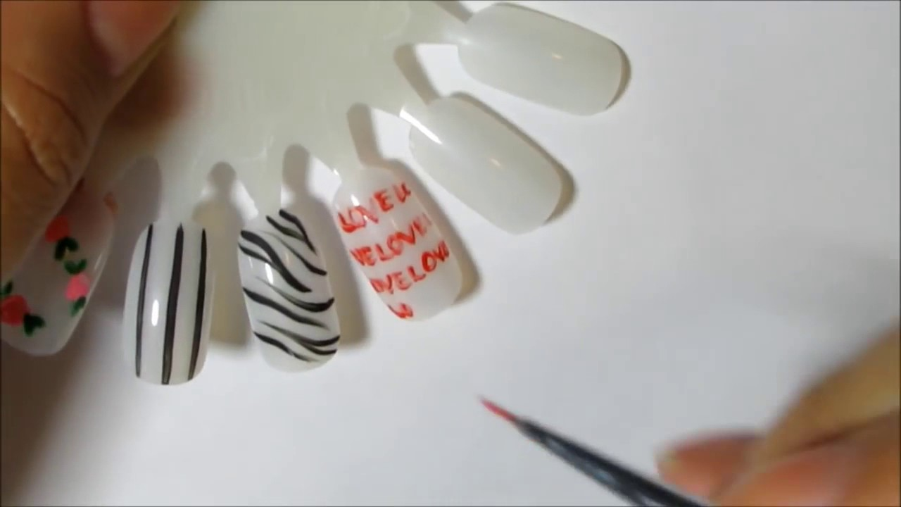How To Use Your Nail Art Brushes Winstonia Nail Art Brushes Review ...