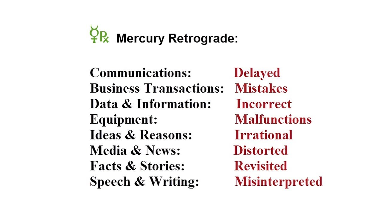 mercury retrograde july august 2018 analysis for each sign youtube. Black Bedroom Furniture Sets. Home Design Ideas