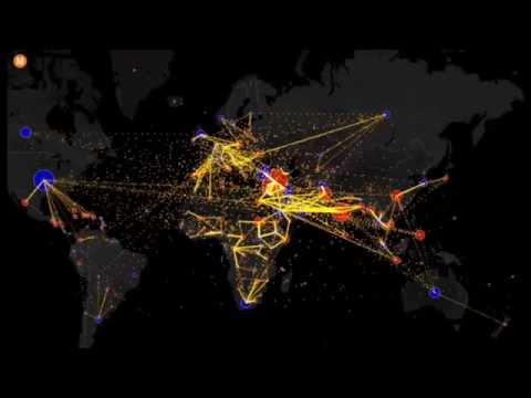 All the World's Immigration Visualized in One Map