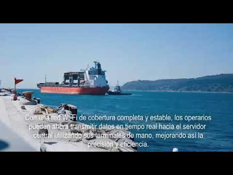 Altai Super WiFi Deploys in the Largest Private Port in Chile (Spanish)