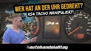 Wer hat an der Uhr gedreht? | Tacho manipuliert beim RS4 B5 auf Mallorca | Betrug? | Team DAG