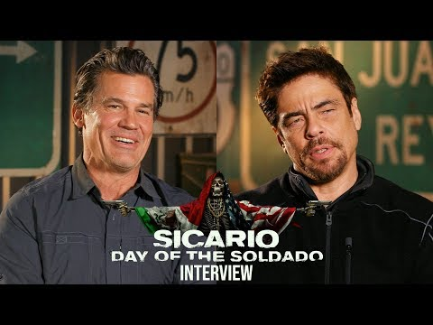 'Sicario: Day of the Soldado' Interview Mp3