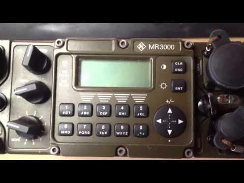 Repeat Q-MAC HF-90 shortwave radio field demonstration by