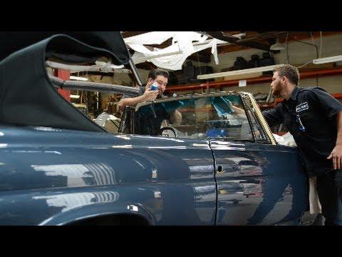 66 Mercedes Benz 300se Convertible Restoration Almost