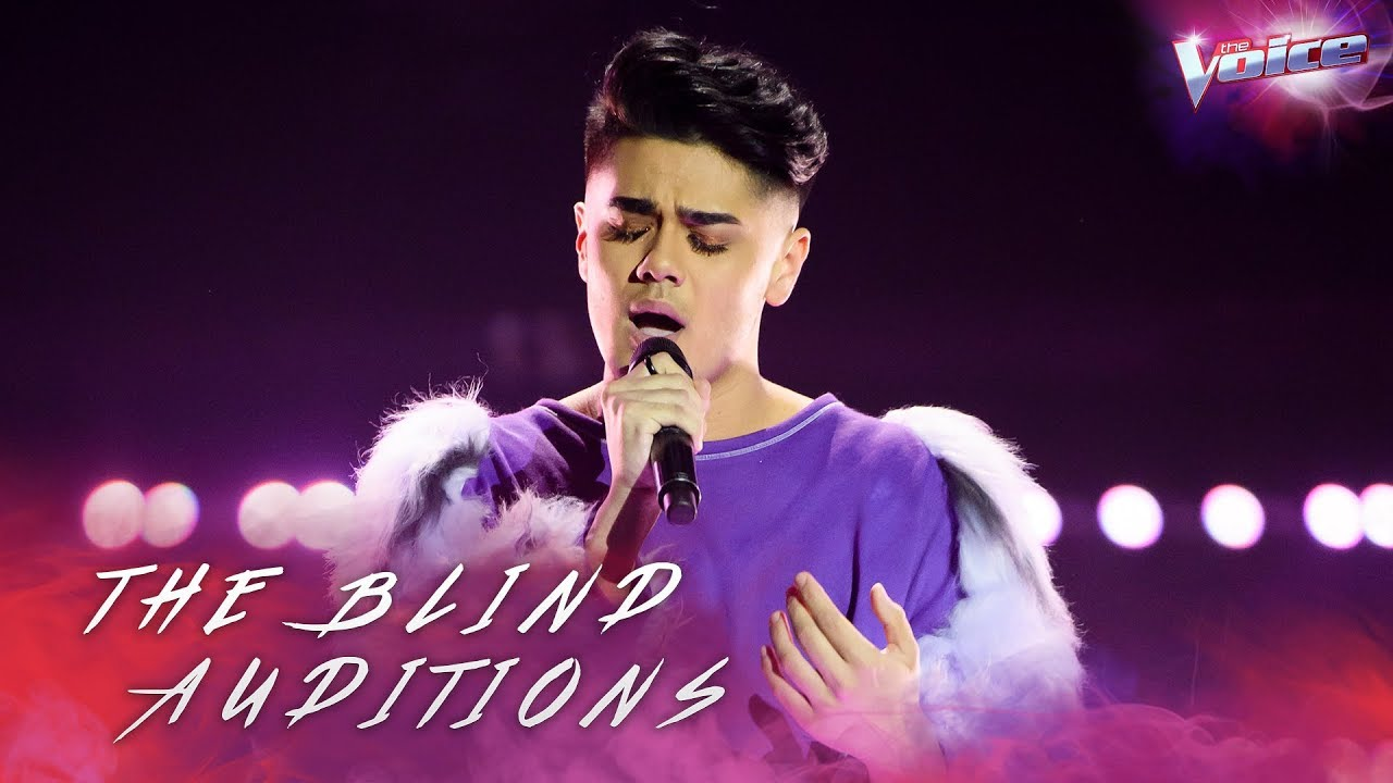 Blind Audition Sheldon Riley Sings Do You Really Want To Hurt Me The Voice Australia 2018 Youtube