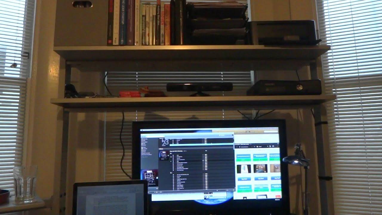 Ikea Jerker Desk Review   YouTube