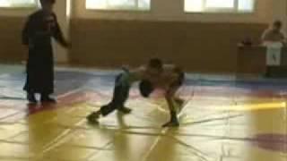 Бурятская (бурят-монгольская) борьба. Дети и подростки
