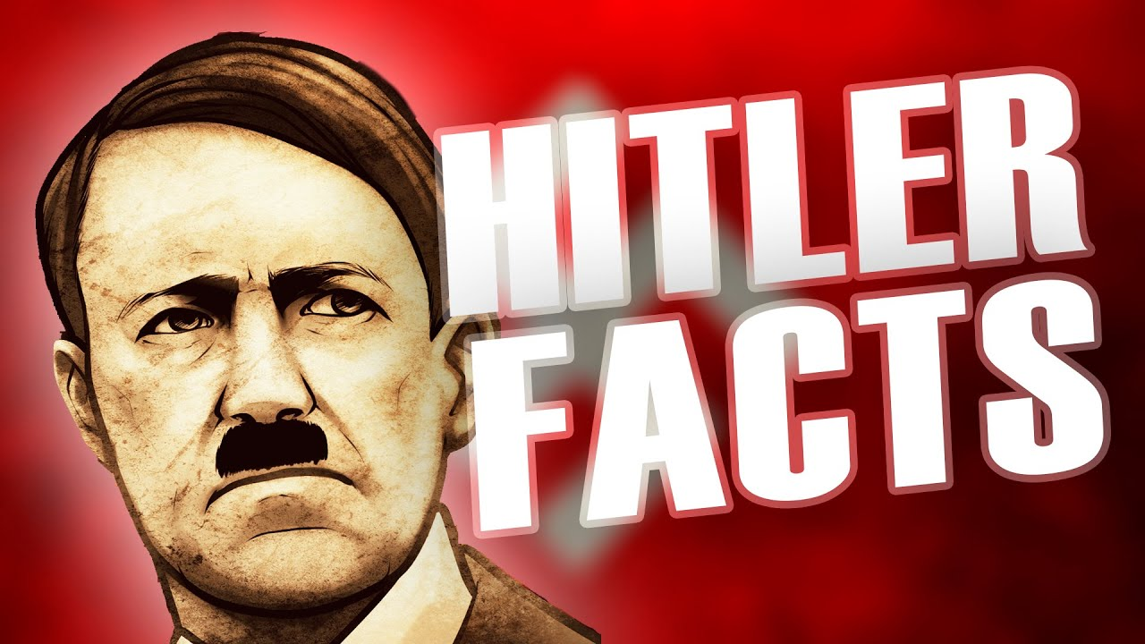 10 Unbelievable Facts About Adolf Hitler - YouTube