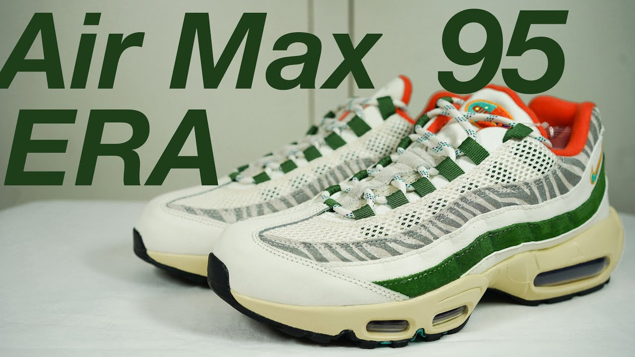 NIKE AIR MAX 95 ERA: Unboxing, review & ON FEET