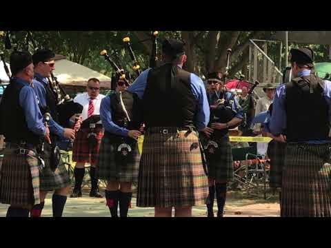 Cameron Highlanders Pipe Band (Grade IV) - Pleasanton Games - Medley - September 3, 2017