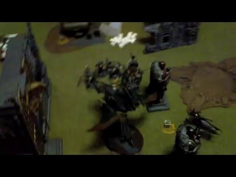 Warhammer 40k White Scars vs Dark Eldar Battle Report and Tactics