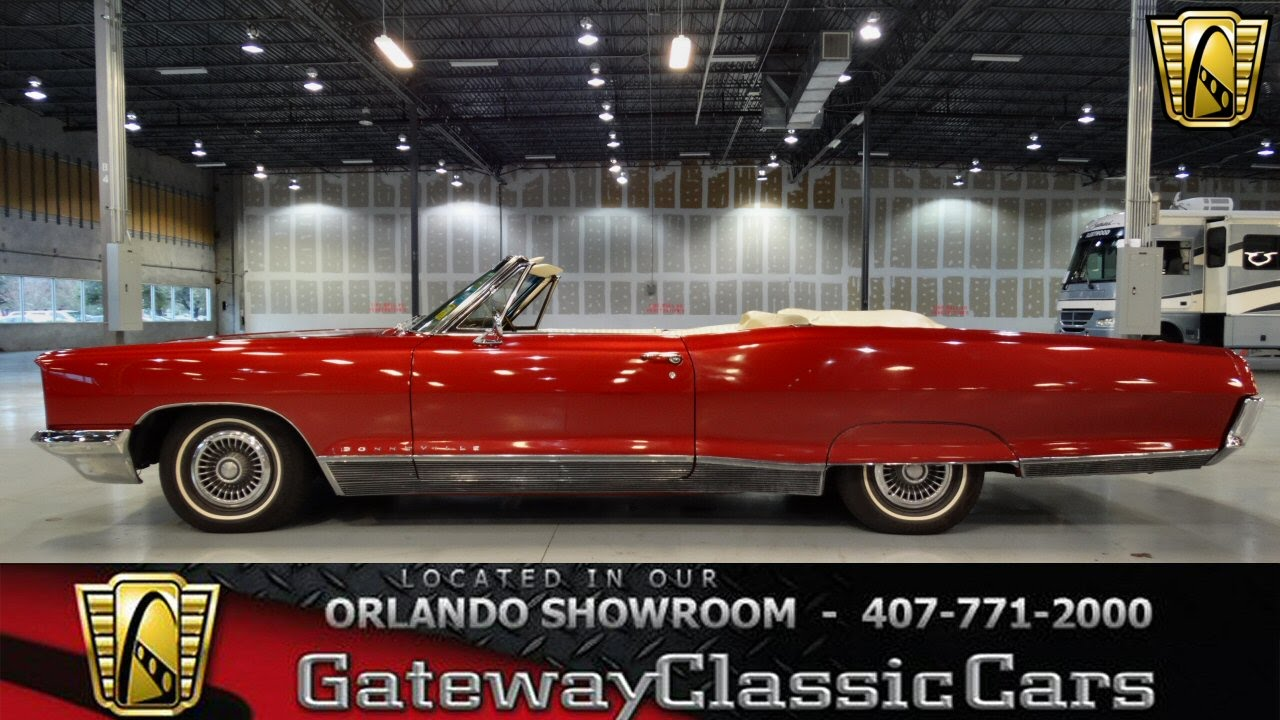 medium resolution of 1966 pontiac bonneville convertibe gateway classic cars orlando 99 ord youtube