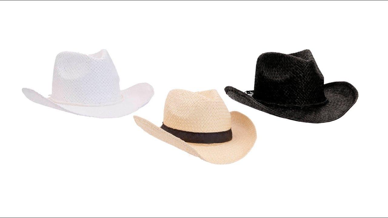 🎁 Sombreros personalizados 4 - Sombrero Braz - YouTube b3c3bb74ff3