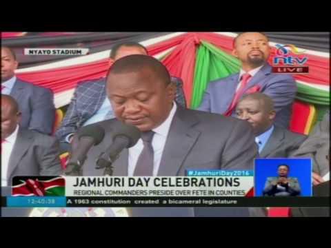 President Uhuru Kenyatta's full Jamhuri Day speech.