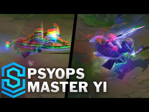 PsyOps Master Yi Skin Spotlight - League of Legends