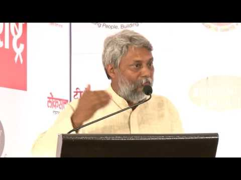 Loksatta.Badalta Maharashtra - Farmers need awareness to survive drought, says  Rajendra Singh