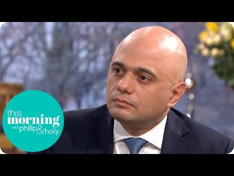 Home Secretary Sajid Javid on the Rise of Knife Crime | This Morning