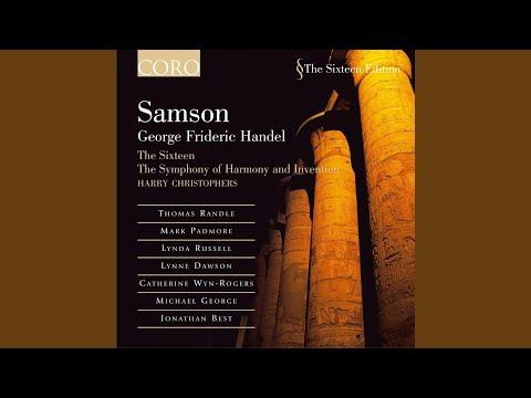Recit: O change beyond report, thought, or belief!: Handel: Samson
