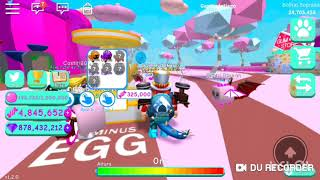 Playing Roblox (Bubble Gum Simulator) #1