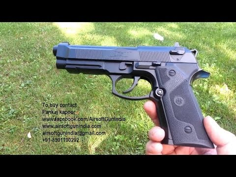 Beretta elite ii co2 air pistol in india by airsoft gun india