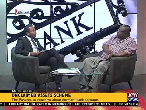 Unclaimed assets scheme - AM Business on Joy News (27-7-16)