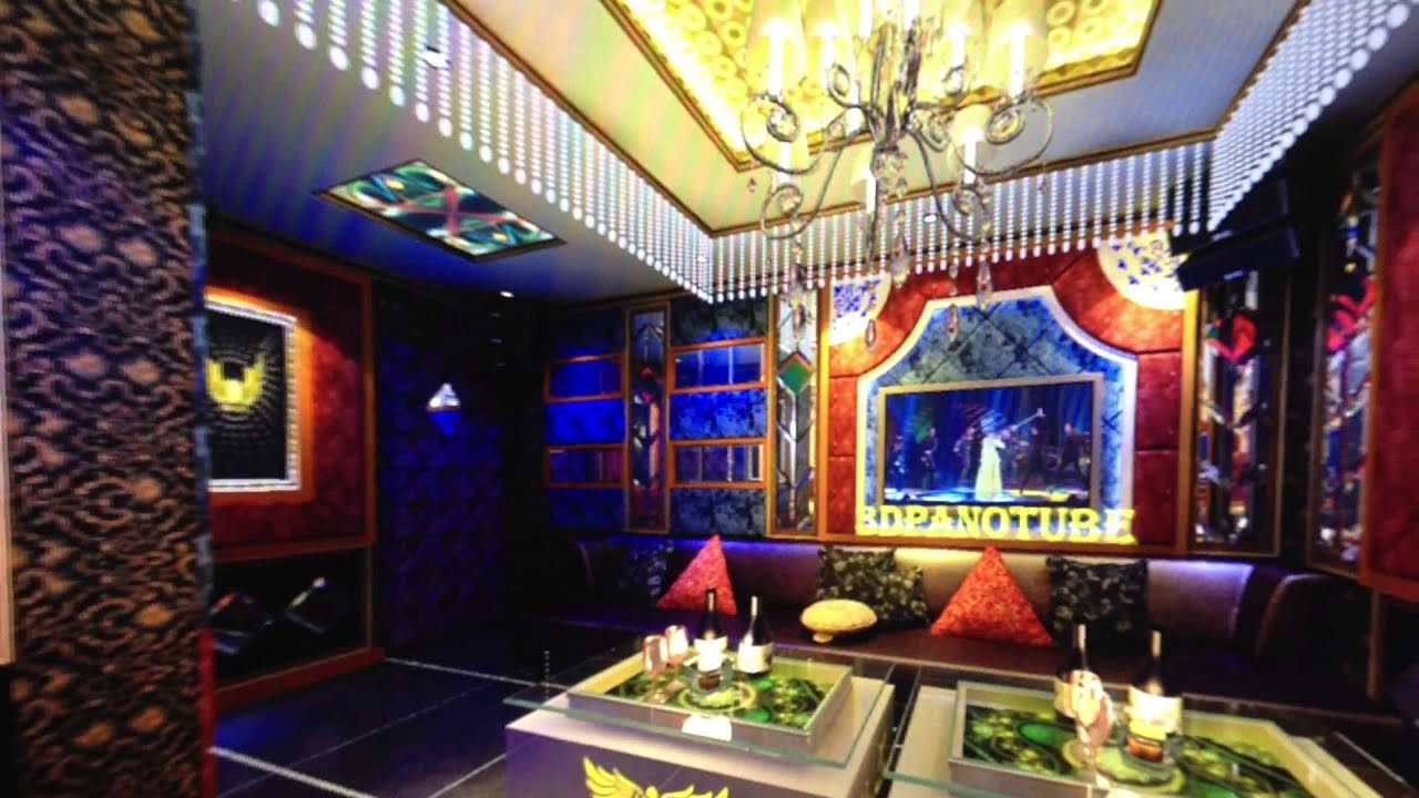 Karaoke room 11 karaoke interior 3d film 360 camera for Karaoke room design ideas