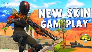 NEW REDLINE SKIN GAMEPLAY - Fortnite Battle Royale Gameplay & How To Complete Week 1 Challenges