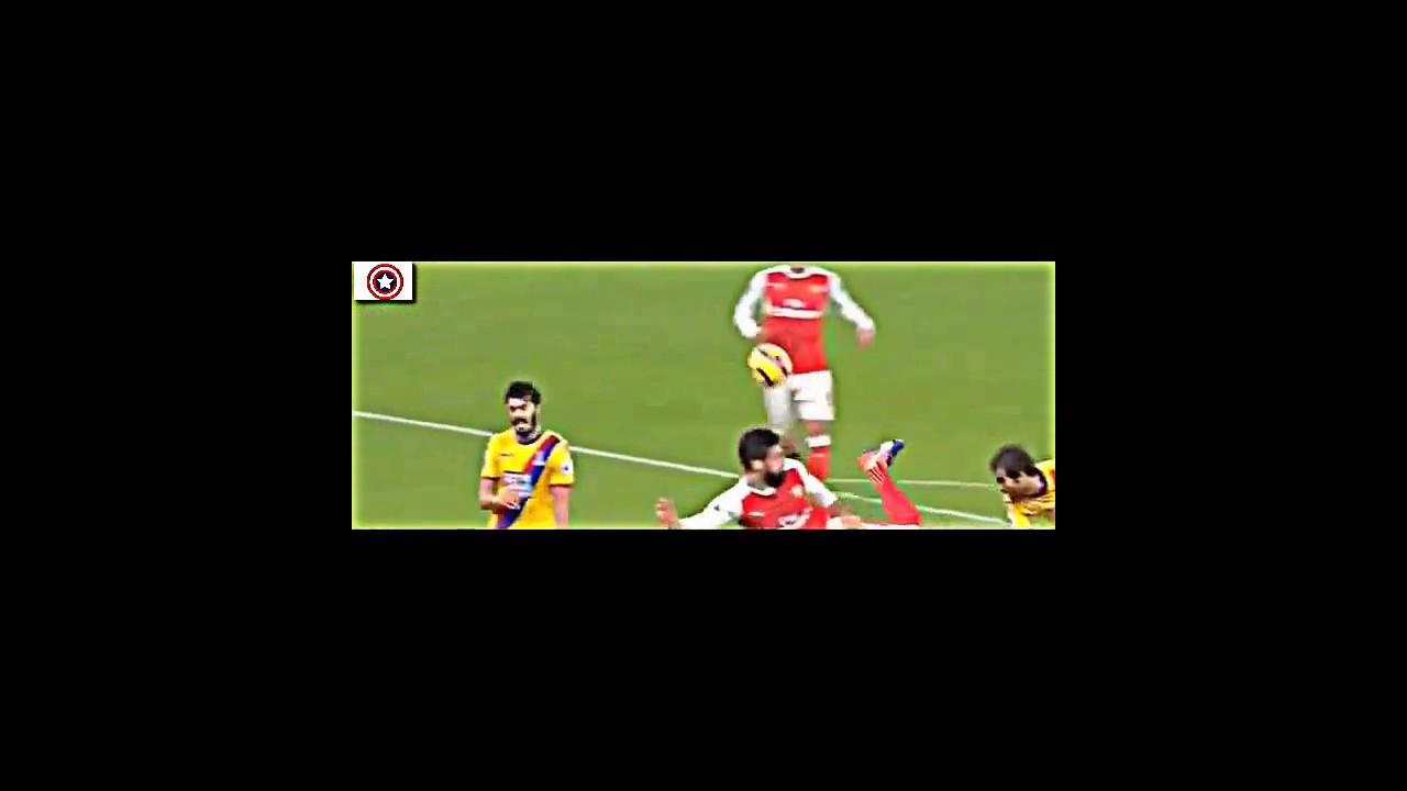 Download Olivier Giroud Scorpion Kick Goal vs Crystal Palace