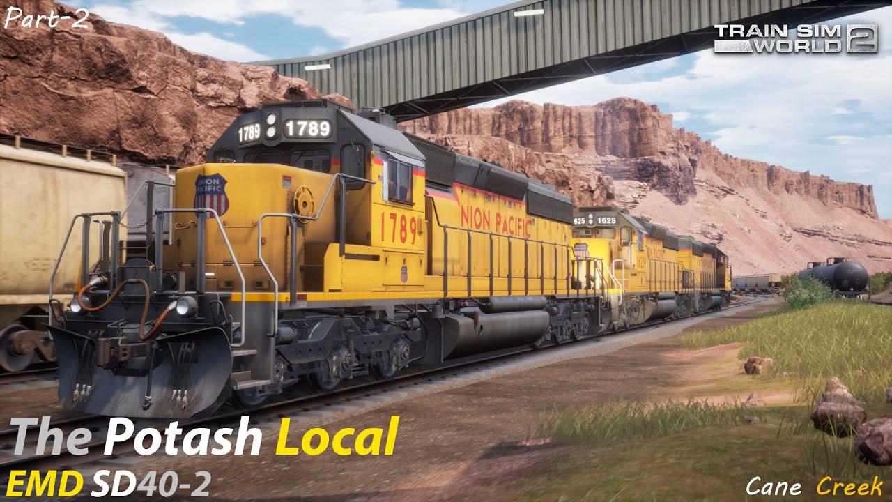 The Potash Local Part 2 : Cane Creek Subdivision : Train Sim World 2 1080p60fps