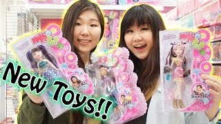 TOY HUNTING with Jenny - New Toys and Dolls!! - Make It Pop, Barbie, Lego, Chubby Puppies and MORE!!