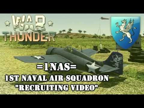 Join the War Thunder 1st Naval Air Squadron